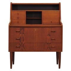 Retro Secretaire Danish Design Vintage