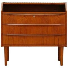 Retro Secretaire Teak Danish Design Vintage