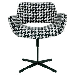 Retro Swivel Club Chair Midcentury Modern Space Age