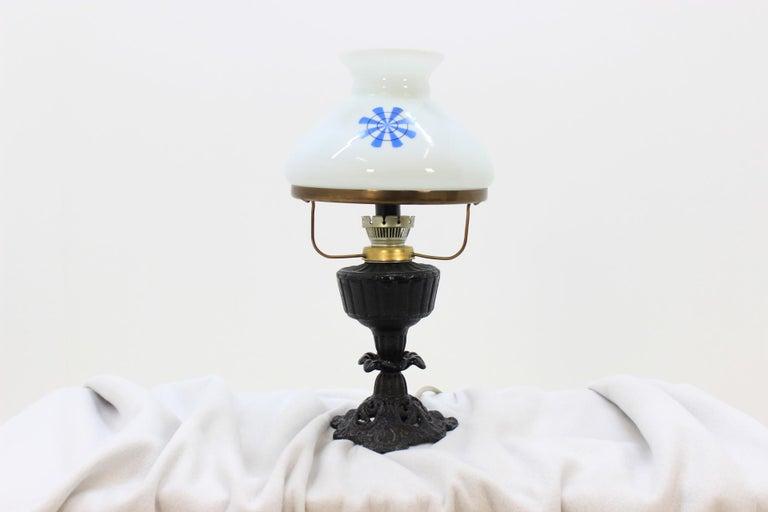 Mid-Century Modern Retro Table Lamp, Czechoslovakia For Sale