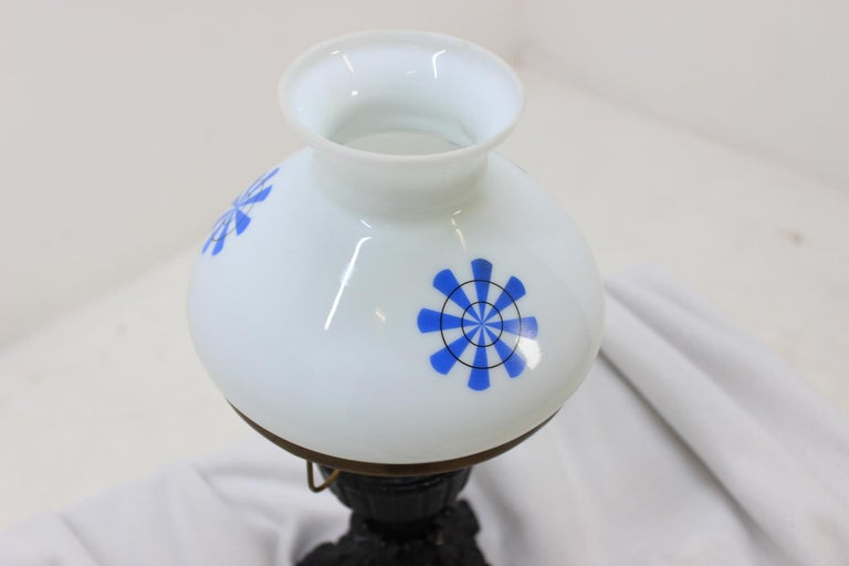 Late 20th Century Retro Table Lamp, Czechoslovakia For Sale