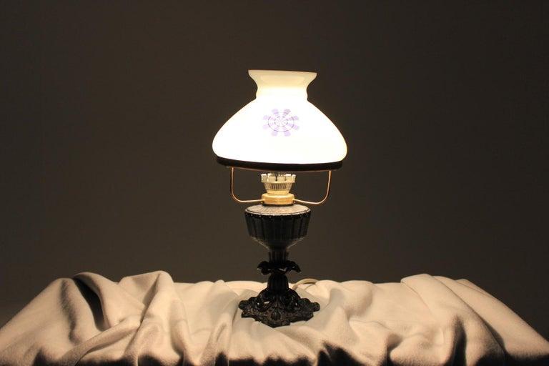 Retro Table Lamp, Czechoslovakia For Sale 2