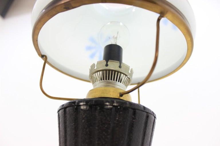Retro Table Lamp, Czechoslovakia For Sale 3