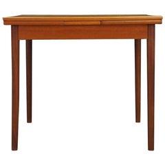Retro Teak Dining Table Vintage Teak, 1960s