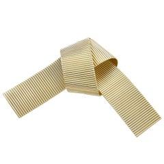 Retro Tiffany & Co. Gold Bow Pin