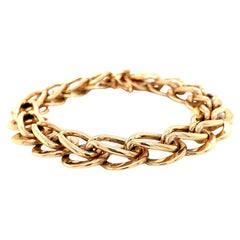 14k Gold Link Bracelets