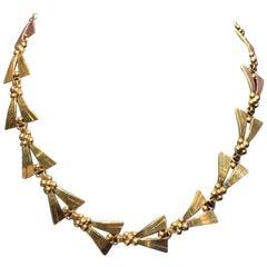 Retro Tiffany & Co. Gold Necklace