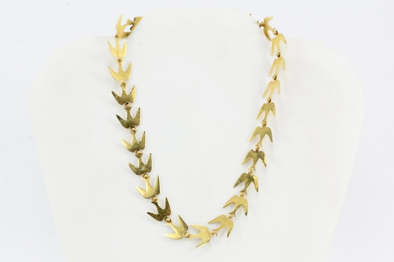 Era: Vintage  Composition: 14K Yellow Gold  Link Measurement: 15.02mm x 16.15mm  Total length: 15 inches  Necklace Weight: 21.5 grams   Necklace Condition: Excellent Estate Condition