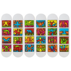 Retrospect Skateboard Decks after Keith Haring