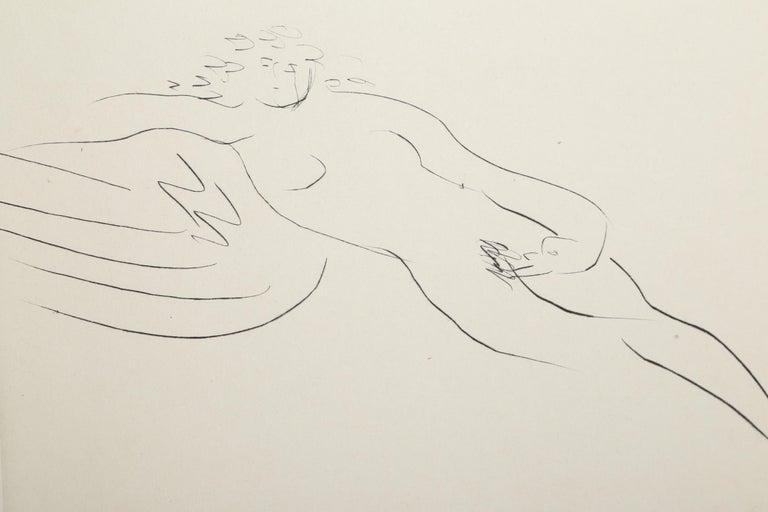 Leda and the Swan III - Print by Reuben Nakian