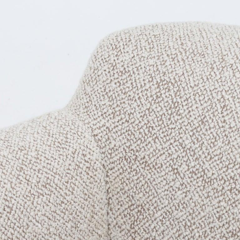 Scandinavian Modern Reupholstered 3-Seat Sofa For Sale