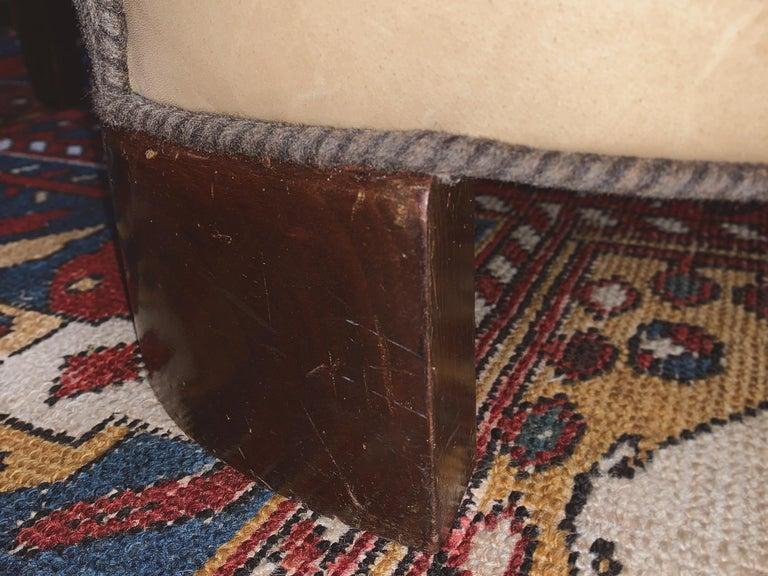 Reupholstered Danish Modern Settee by Slagelse Møbelvaerk For Sale 8