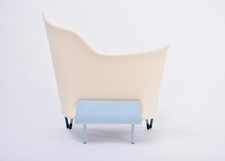 20th Century Reupholstered Torso Lounge Chair Designed by Paolo Deganello for Cassina, 1980s For Sale