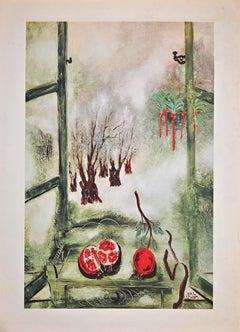 Landscape - Original Offset Print after R. Rubin - Early 2000s