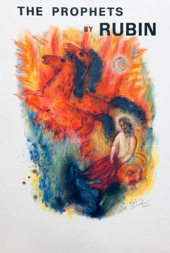 The Prophets-Lithograph, Printed in France by Mourlot