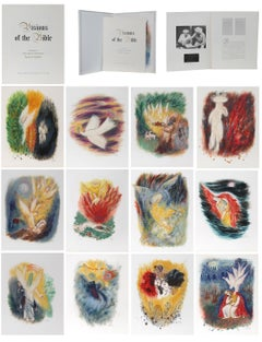 Visions of the Bible Portfolio, 12 Lithographs by Reuven Rubin