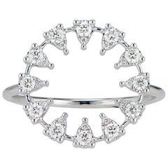 Reve Round Diamond Ring