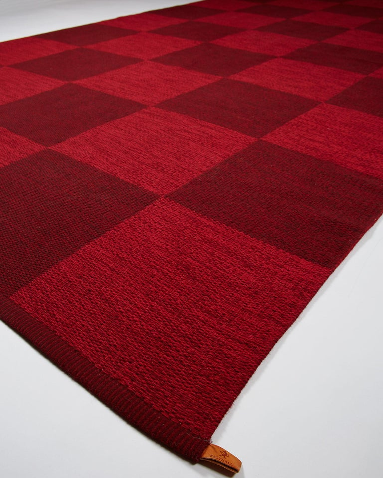 Reversable Rug for Kasthall, Sweden, 1960s In Excellent Condition For Sale In Stockholm, SE