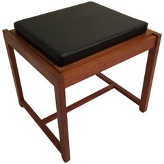 Reversible End Table Stool by Erik Buck for OD Mobler