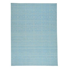 Reversible Flat-Weave Handwoven Kilim Pure Wool Rug