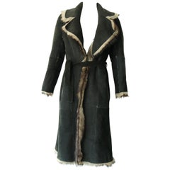 Reversible Fur and Leather coat