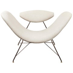 """Reversible"" Lounge Chair by Martin Eisler & Carlo Hauner"