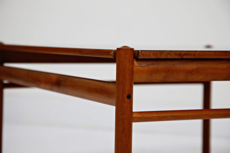 Reversible Teak & Formica Coffee Tables by Ole Wanscher for Poul Jeppesen For Sale 12