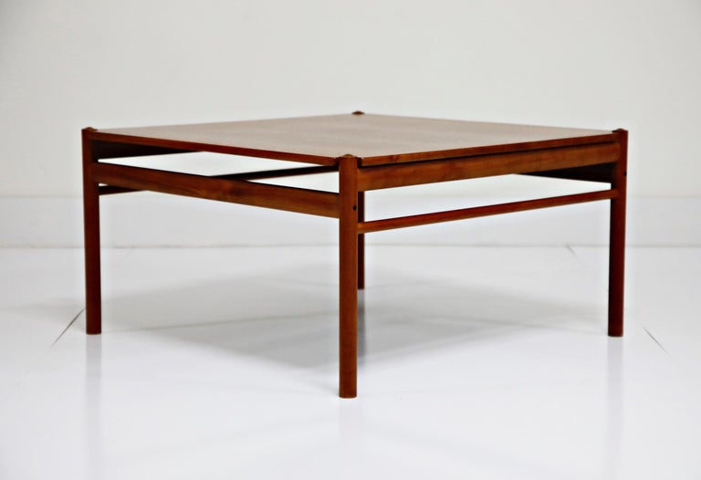Mid-20th Century Reversible Teak & Formica Coffee Tables by Ole Wanscher for Poul Jeppesen For Sale