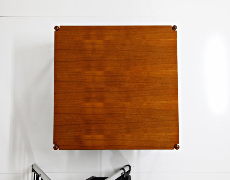 Reversible Teak & Formica Coffee Tables by Ole Wanscher for Poul Jeppesen For Sale 3