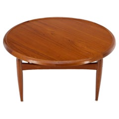 Reversible top around Danish Mill Century modern coffee table