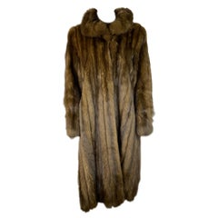Revillon Paris- New York Sable Fur Coat