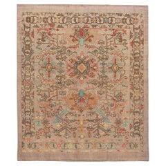 Revival Modern Handmade Colorful Wool Rug