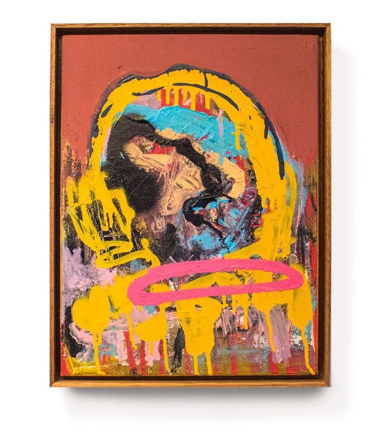 """LISA"" - Mixed Media Art by Revolue"