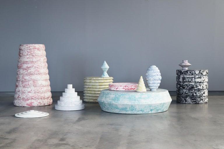 "Danish ""Revolve"" No.S1 Blue – Contemporary 21st-Century Stucco Sculpture 'no. 01/05' For Sale"