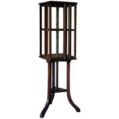 Revolving Bookcase, Side Table, Bedstead, Small Side Table, Decorative Table