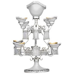 Revolving Old Sheffield Silver Plate Epergne