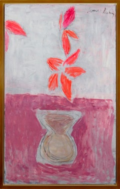 """Pink Vase with Flowers"""