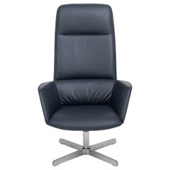 Rex Posture Support Leather Armchair by FSM