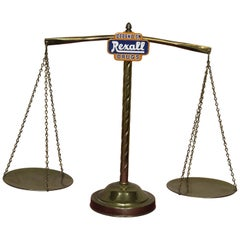 Rexall Drugs Pharmacy Balance Beam Scale