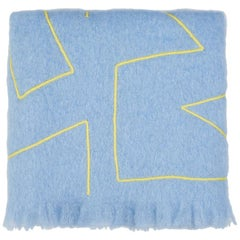 Reyburn, Hand Embroidered Throw Blanket
