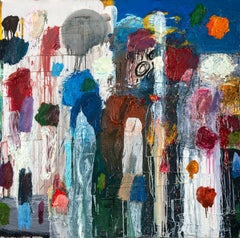 Fabric Abstract Paintings
