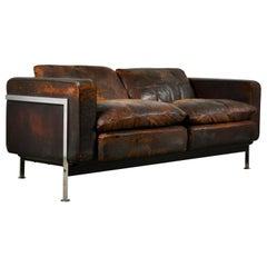 RH 302 Lounge Chairs by Robert Haussmann for De Sede 1960s