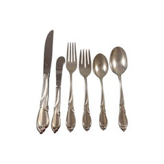Rhapsody by International Sterling Silver Flatware Service for 12 - 80 pieces