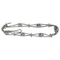 Rhinestone Necklace/Belt, USA, c. 1960's