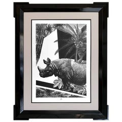 "Rhino Limited Edition Tropical Animal Collection ""Black & Wild"""