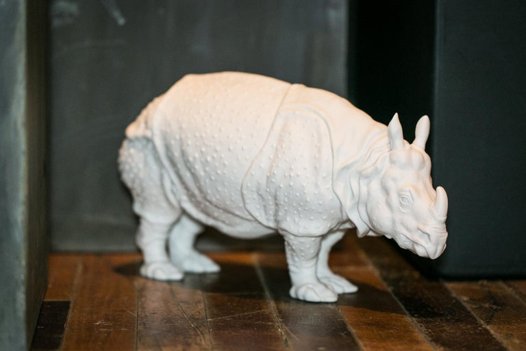 There was a mania for the exotic in the 18th century. The first live rhinoceros arrived in Europe in 1741 – a mighty animal from the Bay of Bengal with a thick skin and a Horn that reputedly possessed special powers. The animal was shown as a