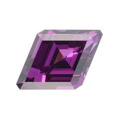 Rhodolite Garnet Ring Gem 2.17 Carat Kite Shape Loose Unset Gemstone
