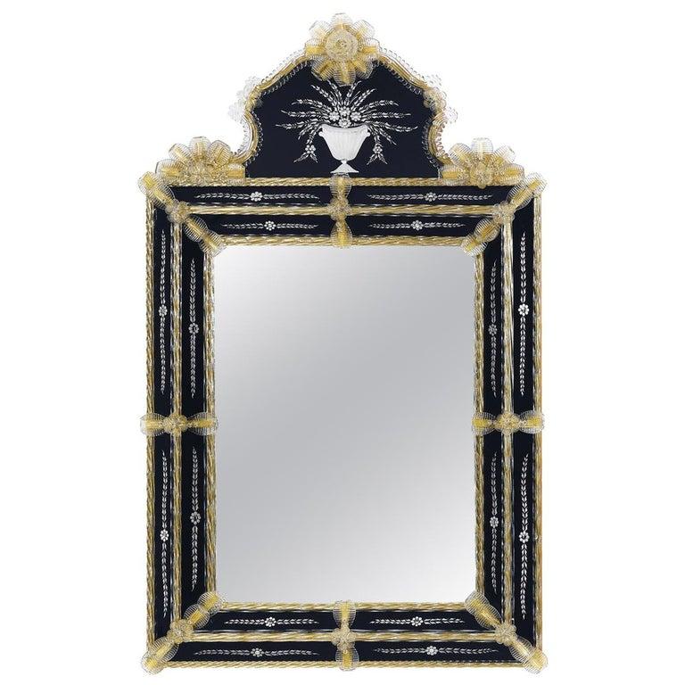 Rialto Bi-Color Mirror For Sale