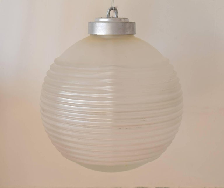Stylish hanging light fitting.