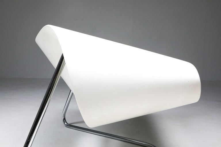 Ribbon Chair by Franca Stagi for Bernini, 1961 For Sale 4